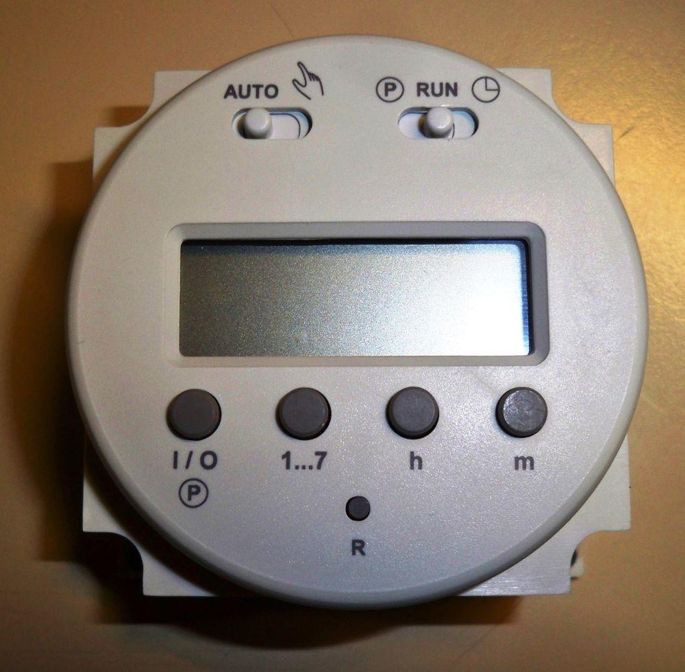 Interrupteur Horaire & Hebdomadaire  12 v CC 45 Étréchy (91)