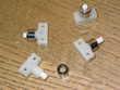 1 un interrupteur poussoir écrou CHROME lampe jumo