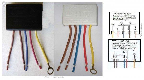 Interrupteur Tactile 3 Intensités Pour Lampe 220v