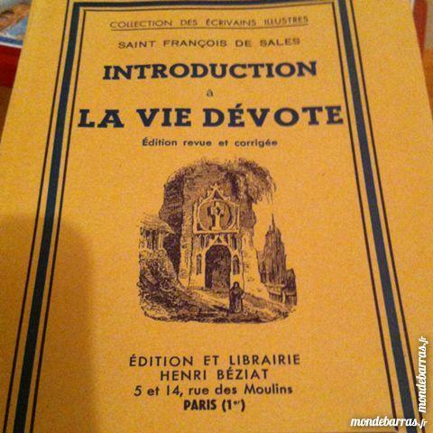 Introduction à la vie dévote 3 Saint-Vallier (71)