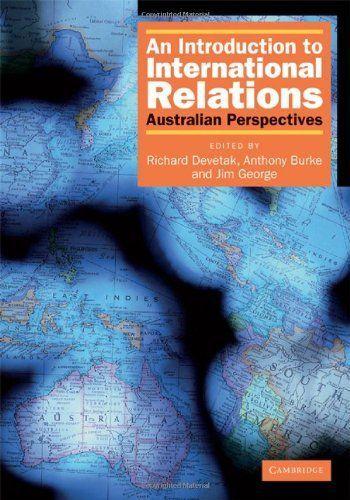 Introduction International Relations Australian R Devetak 30 Vitry-sur-Seine (94)