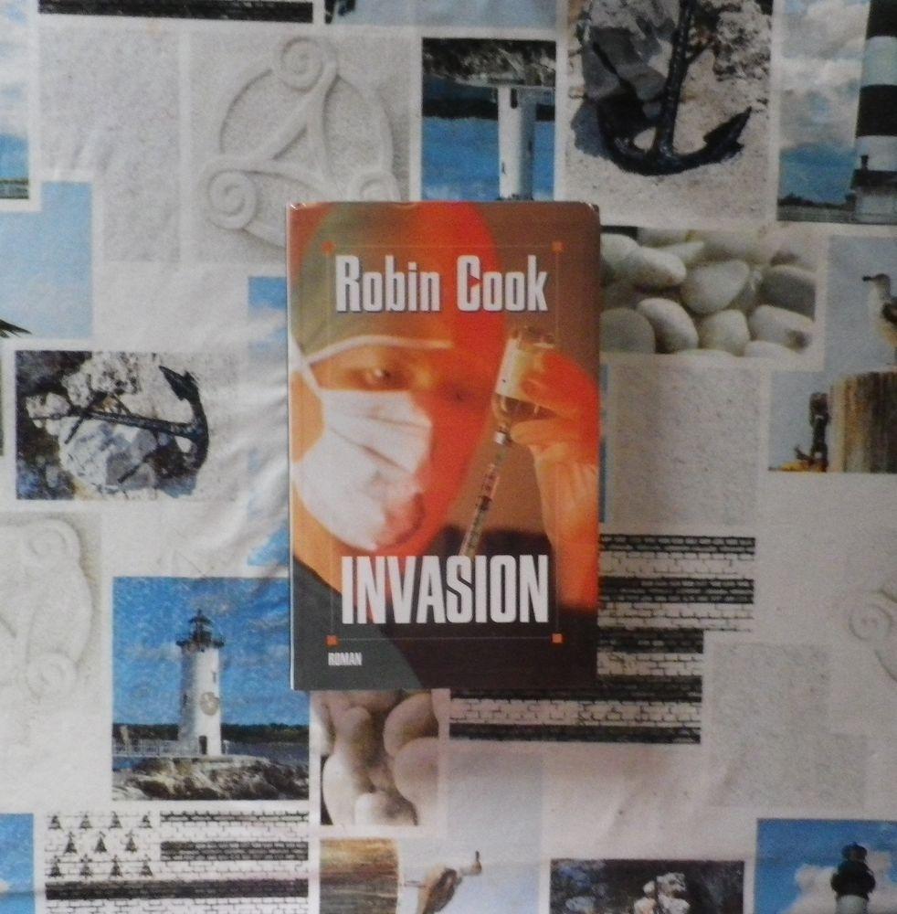 INVASION de Robin COOK Ed. Le Grand Livre du Mois 4 Bubry (56)