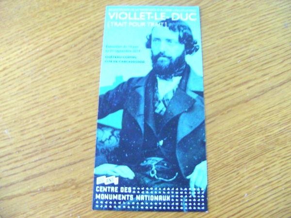 Invitation pour 2: Exposition Viollet-le-Duc à Carcassonne 0 Ardoix (07)