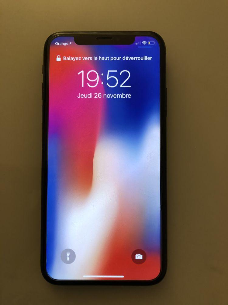 iPhone X 64go 400 Saint-Pierre-lès-Nemours (77)