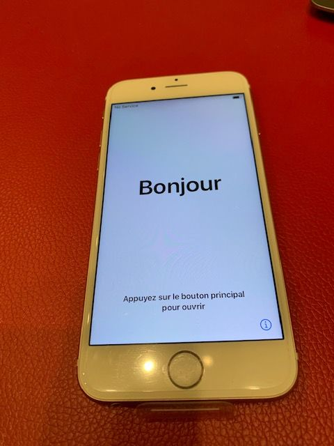 iPhone 6S  rose  64 Go                    105 180 Valenciennes (59)