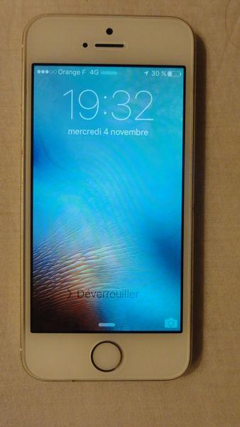 Iphone 5S, 32 Go, Or 400 Saint-Mandé (94)