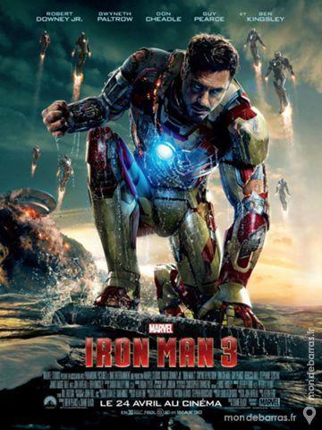 IRON MAN 3 Affiche Cinéma 120x160 cm Marvel 55 Maisons-Alfort (94)