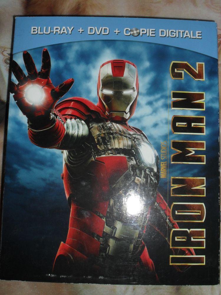 IRON MAN 2 coffret comprenant Blu-Ray-DVD-Copie digitale 40 Montreuil (93)