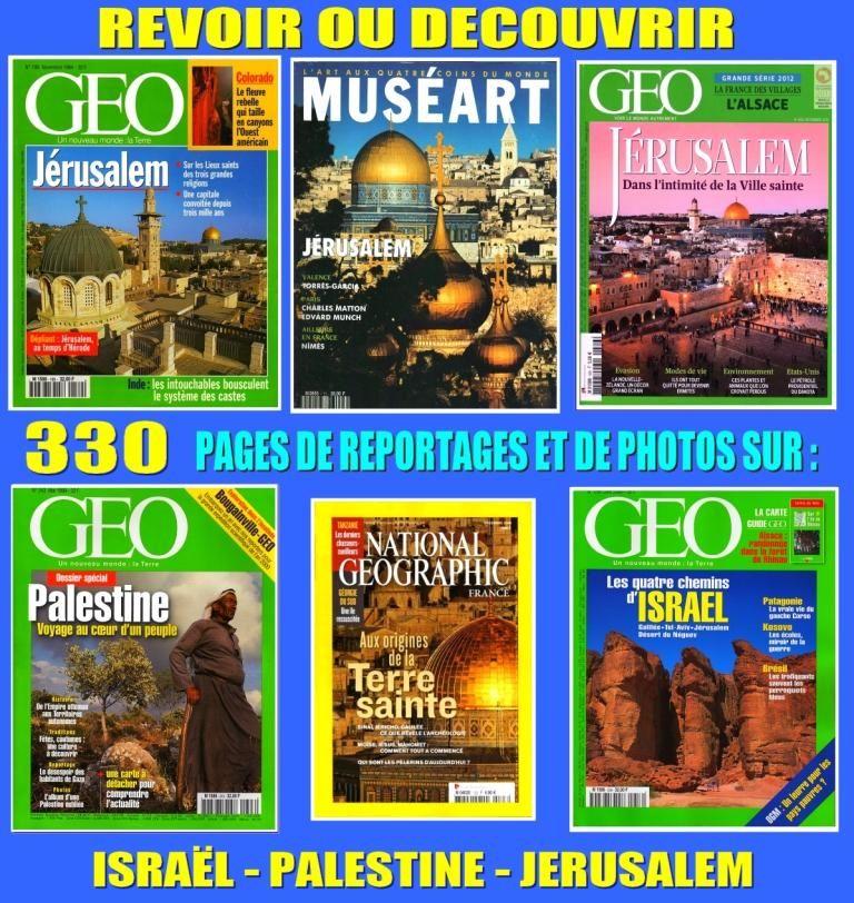 ISRAËL - géo - PALESTINE / prixportcompris 18 Lille (59)