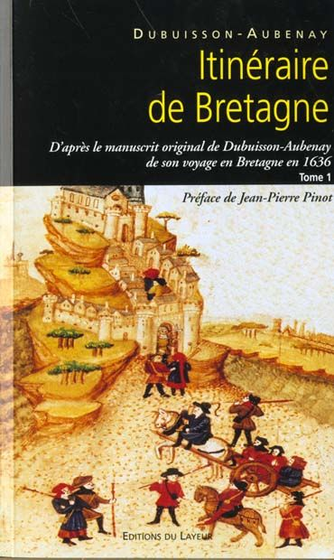 Itineraire de Bretagne en 1636 Tome I et II Livres et BD