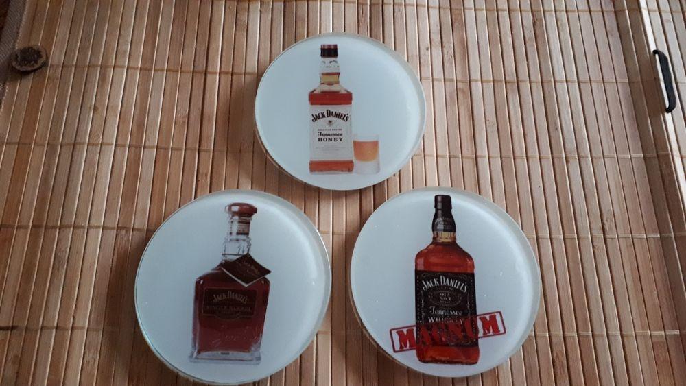 JACK DANIELS : 3 très rares dessous de verre 30 Villemomble (93)