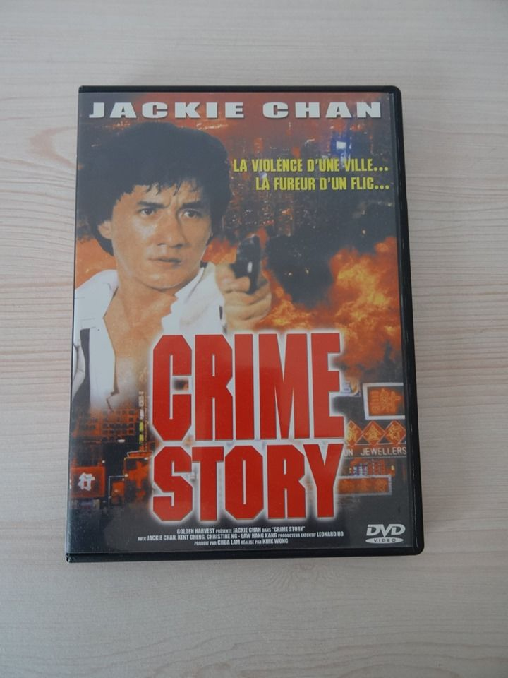 DVD,Jackie Chan,Crime Story,Hong-Kong,Action,Cinéma,Polar,VF 5 Saint-Ambroix (30)
