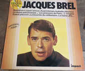 Jacques Brel volume 3 impact disque vinyle 33 tours  3 Laval (53)
