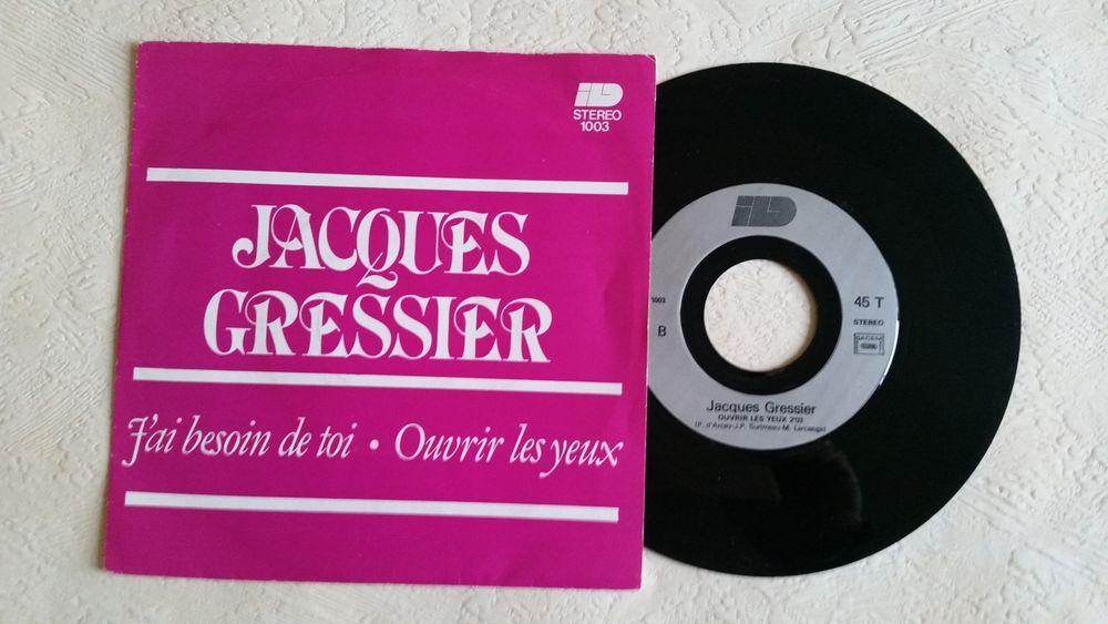 JACQUES GRESSIER CD et vinyles