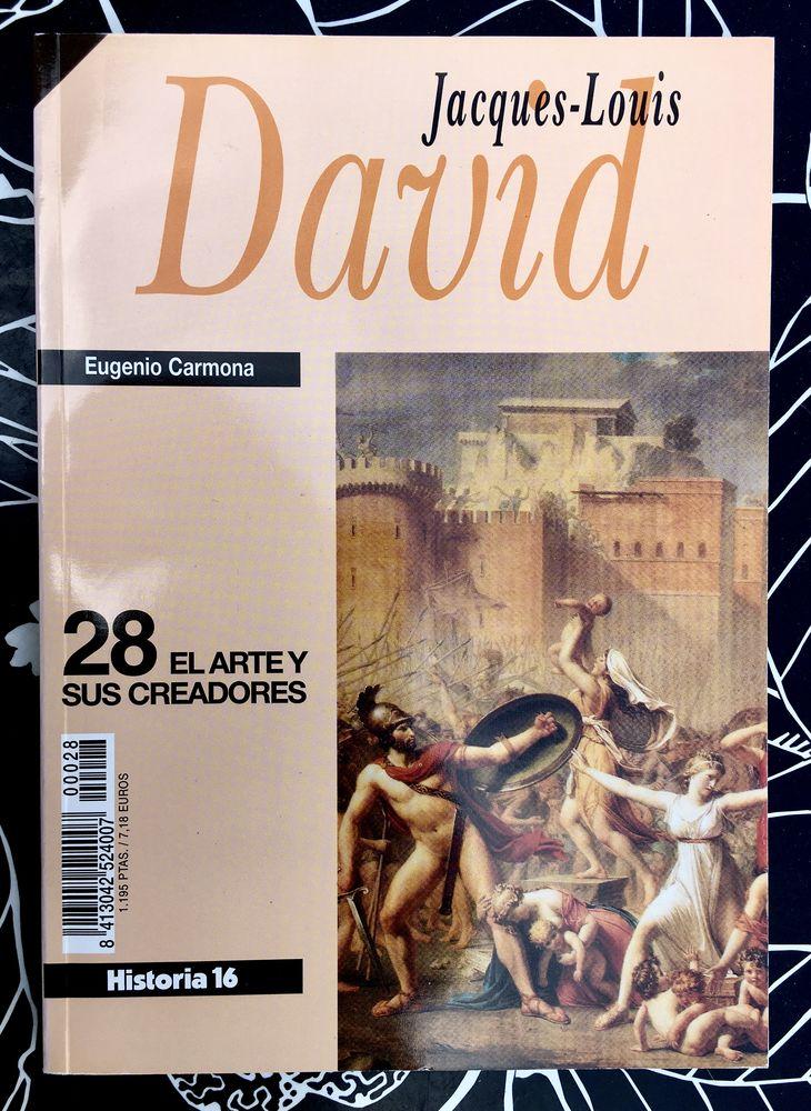 JACQUES-LOUIS DAVID; Livre d'art broché Neuf en Espagnol  4 L'Isle-Jourdain (32)