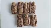 Jacquet : figurines publicitaires : série complète 25 Limoges (87)