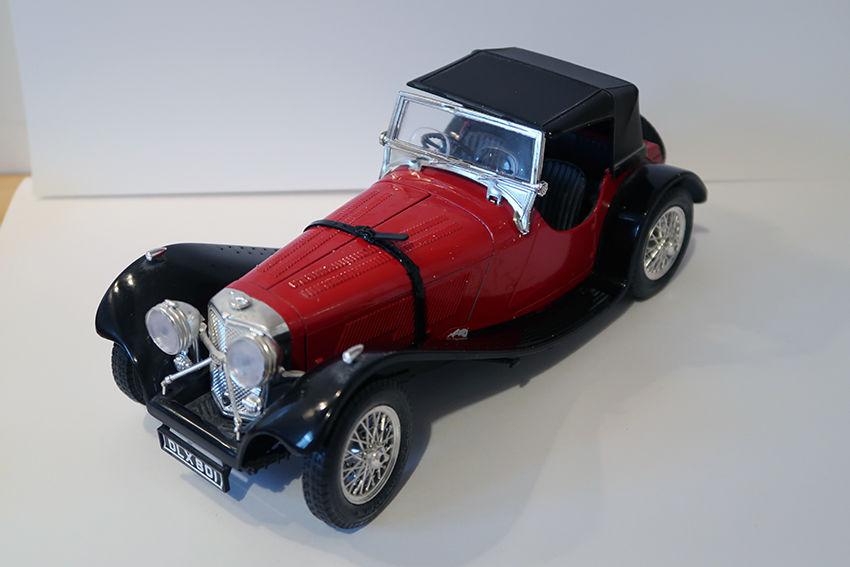 Jaguar SS100 1937 BUGARO 1/18 10 Bondoufle (91)