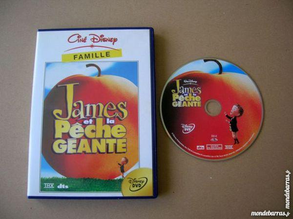 DVD JAMES ET LA PECHE GEANTE - W. Disney 10 Nantes (44)