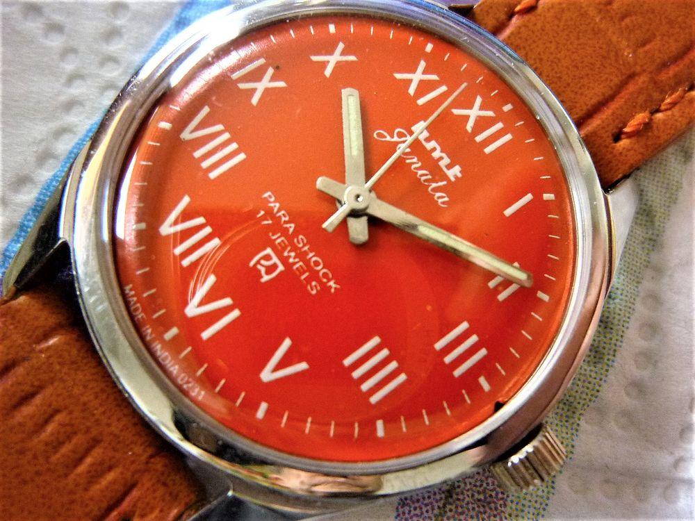 HMT Janata montre mécanique homme 1985 HMT1002 80 Metz (57)