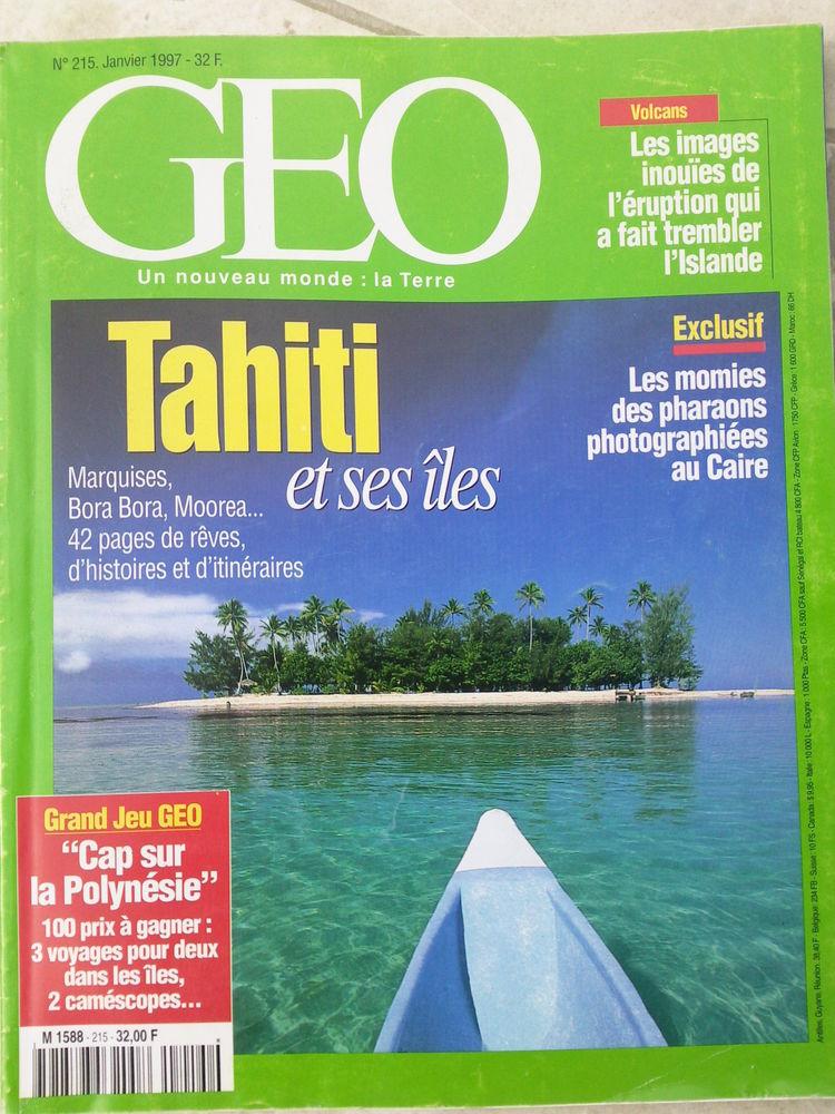 GEO N°215 Janvier 97 Tahiti et ses îles 0 Arros-de-Nay (64)