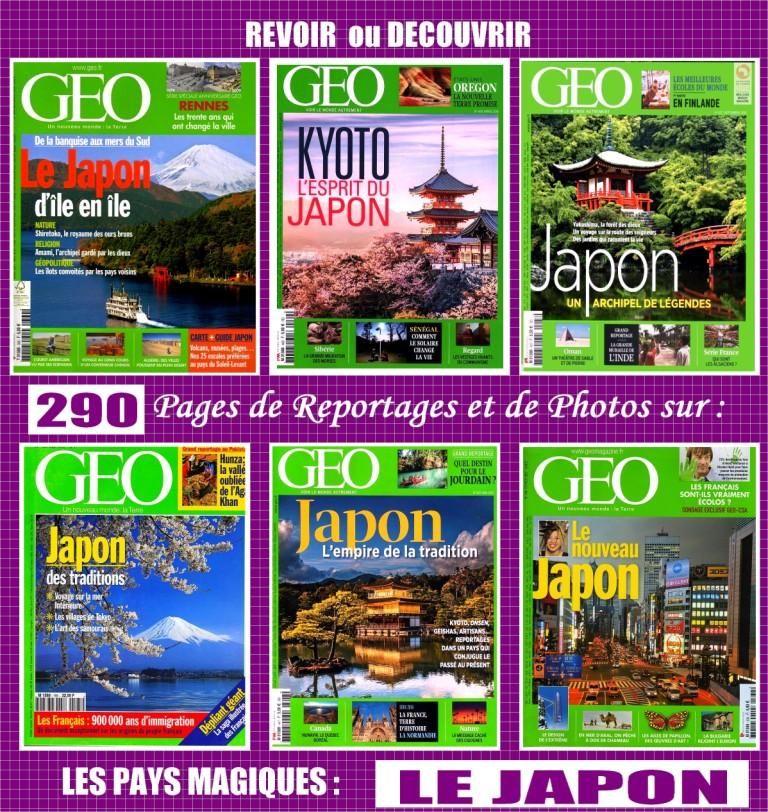 LE JAPON - géo - TOKYO - KYOTO  / prixportcompris 20 Toulouse (31)