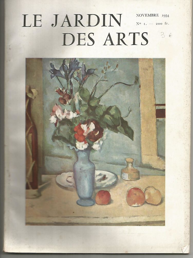 LE JARDIN DES ARTS N° 1 - Novembre 1954  4 Montauban (82)