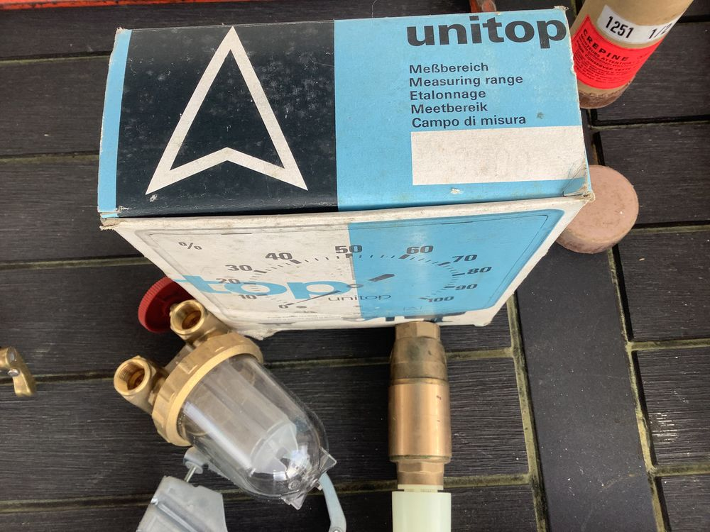 Jauge unitop pour cuve fuel 25 Castets (40)