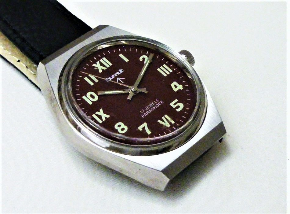 HMT Jawan militaire montre mécanique 1970 HTM0008 85 Metz (57)