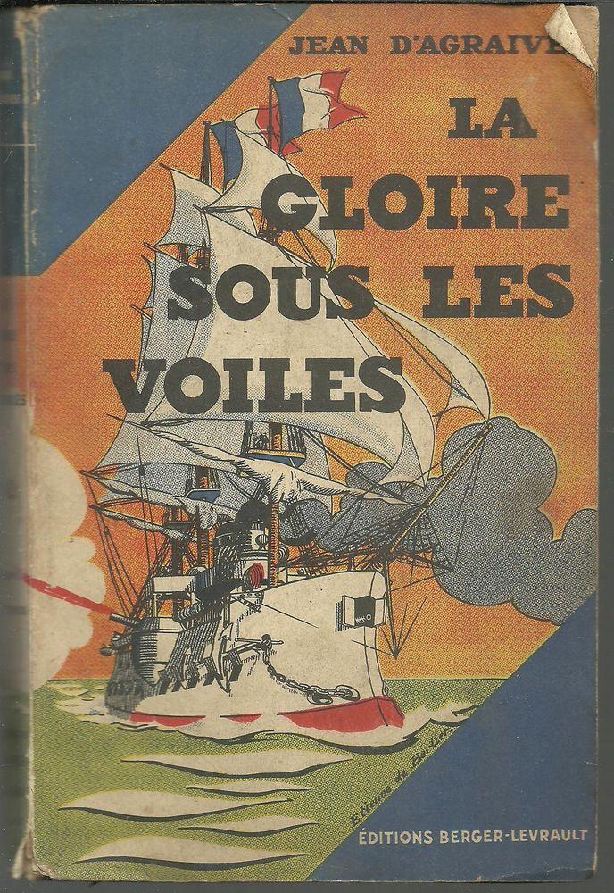 Jean d'AGRAIVES La gloire sous les voiles - 1933 5 Montauban (82)