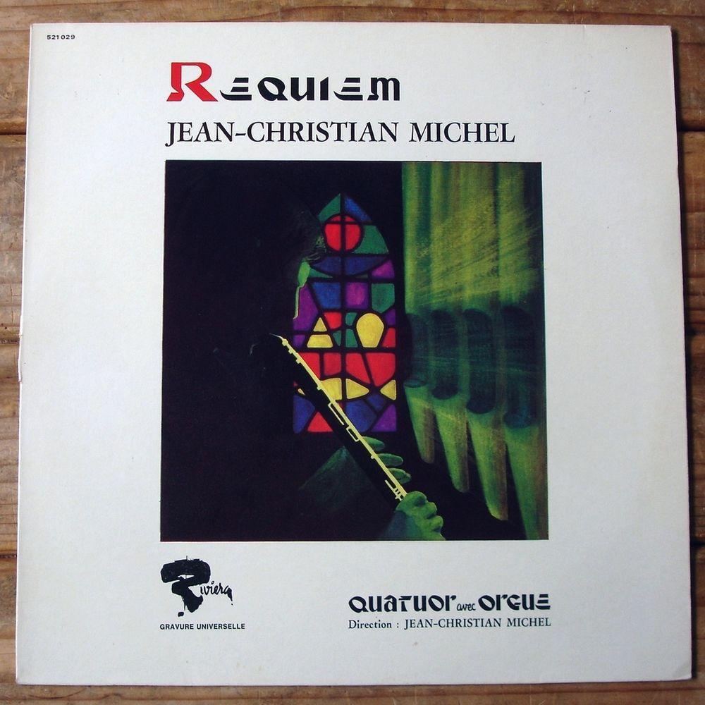 Jean-Christian MICHEL -33t- REQUIEM - RIVIERA 521 029 - BIEM CD et vinyles