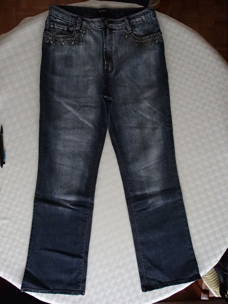 Jean couleur gris 10 Mantes-la-Ville (78)
