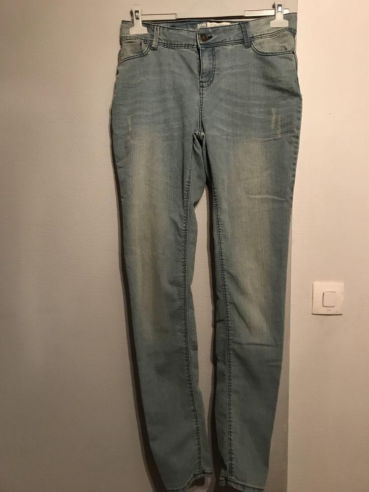 JEAN'S DELAVE Bleu IN EXTENSO Taille US 26 ou 38 Vêtements