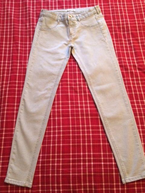 JEAN Femme PULL & BEAR Slim T.38 bleu clair 6 Saulx-les-Chartreux (91)