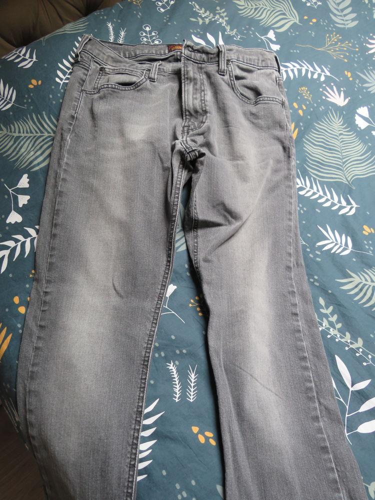 jean gris homme Lee taille W32 L34.  10 Hérin (59)