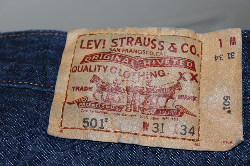 Jean Levi Strauss 501. Bon état.  40 Lyon 3 (69)