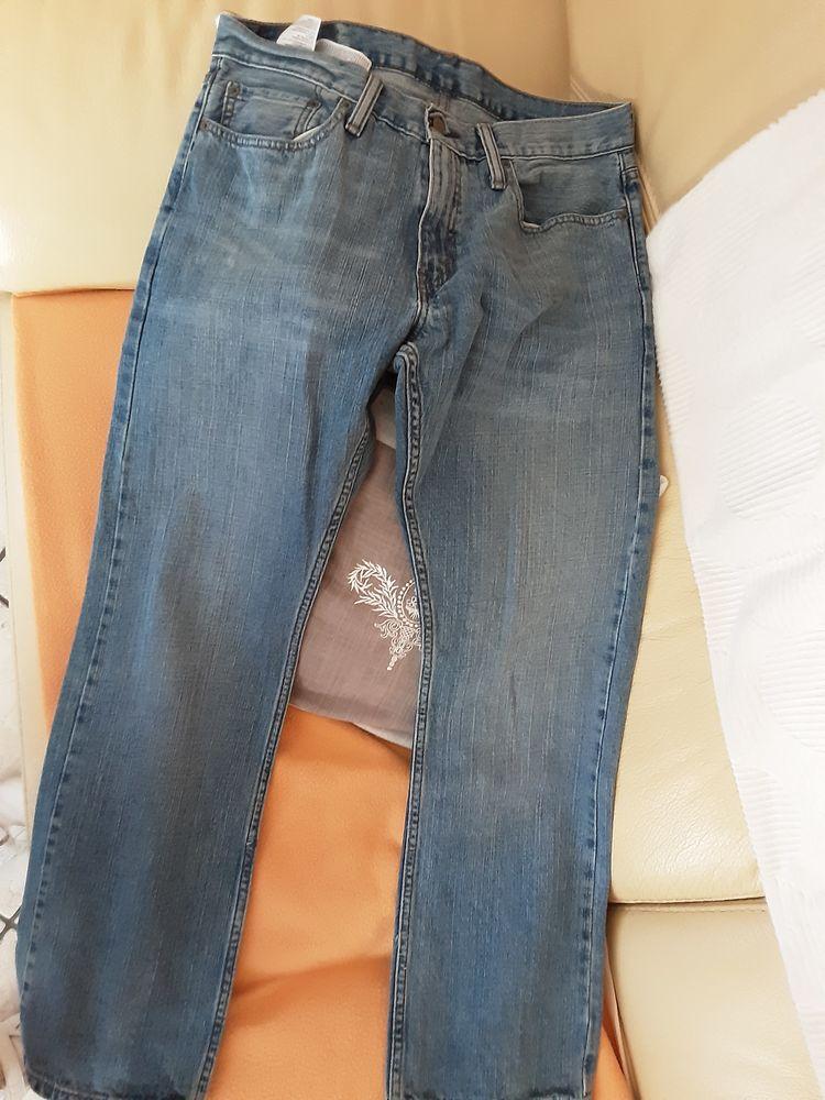 jean levis homme bleu Vêtements