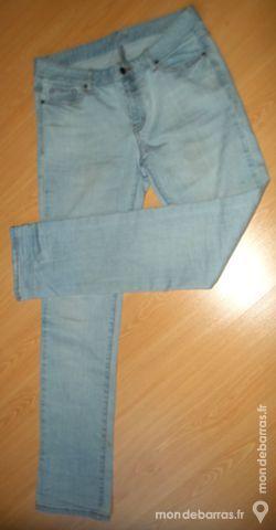 Jean slim - bleu clair - femme 8 Pont-Péan (35)