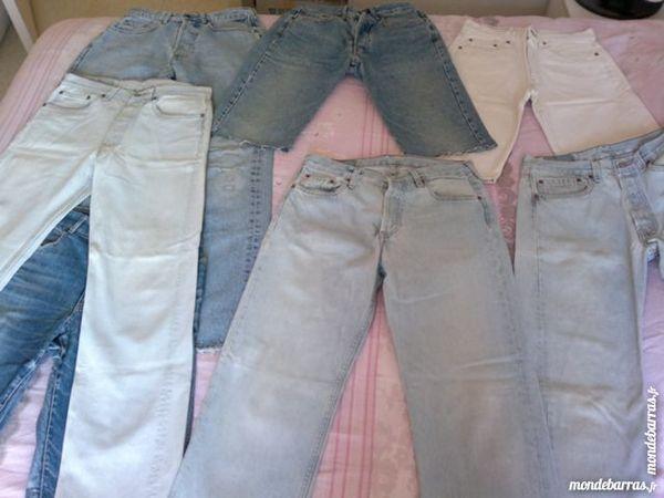 Lot de jeans et autres pantalons 80 Paris 13 (75)