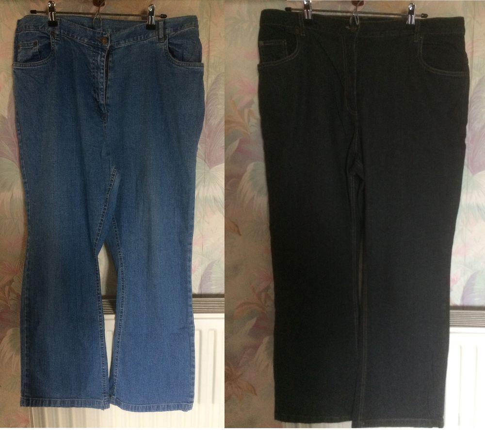 lot de 2 Jeans BLANCHEPORTE de taille 50 15 Les Églisottes-et-Chalaures (33)