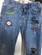 Jeans enfant IKKS avec patchs Smiley taille 8 ans 122/128 cm Vêtements enfants