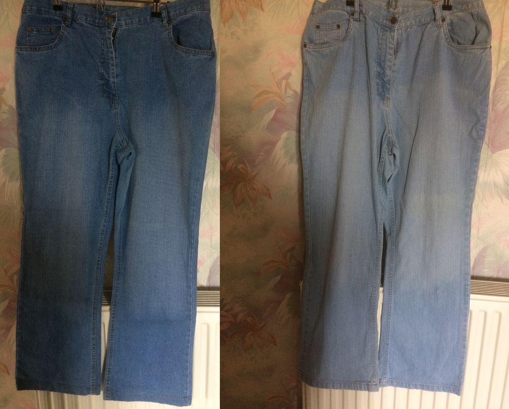 lot de 2 Jeans femme BLANCHEPORTE taille 48 Vêtements