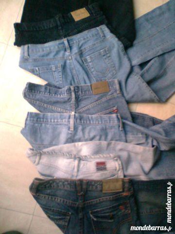 6 jeans homme bleus et noir -40- zoe 5 Martigues (13)