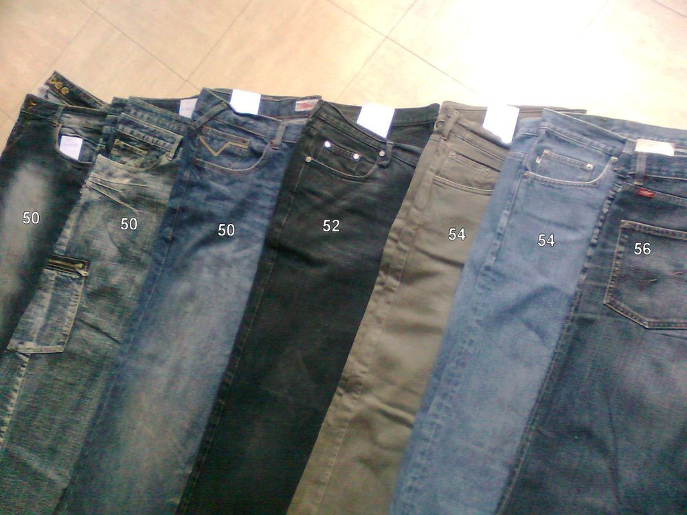 lot de jeans Homme du 50 au 56 - zoe 5 Martigues (13)