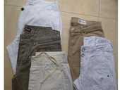 3 jeans + 5 pantalons lin + coton - 36 et 38  -  zoe 7 Martigues (13)