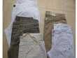 3 jeans + 5 pantalons lin + coton - 36 et 38  -  zoe