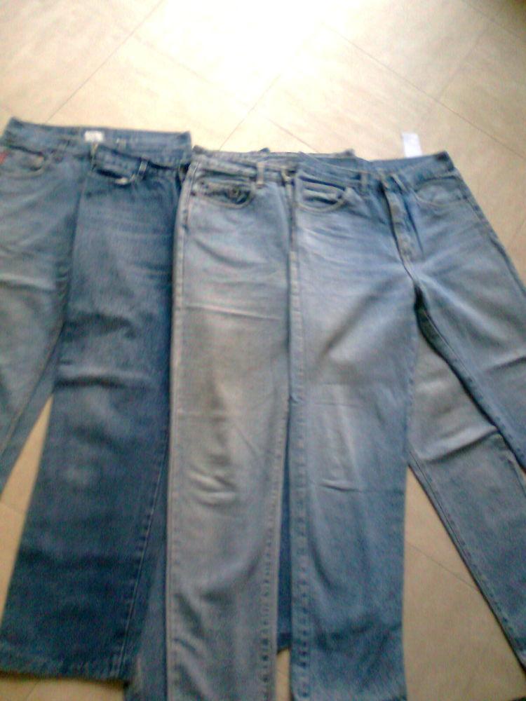 4 JEANS 36 et 38 -ou pour confection de sacs en jean - zoe 4 Martigues (13)