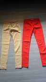 lot 2 jeans : 1 rouge et 1 beige 12 La Magdelaine-sur-Tarn (31)