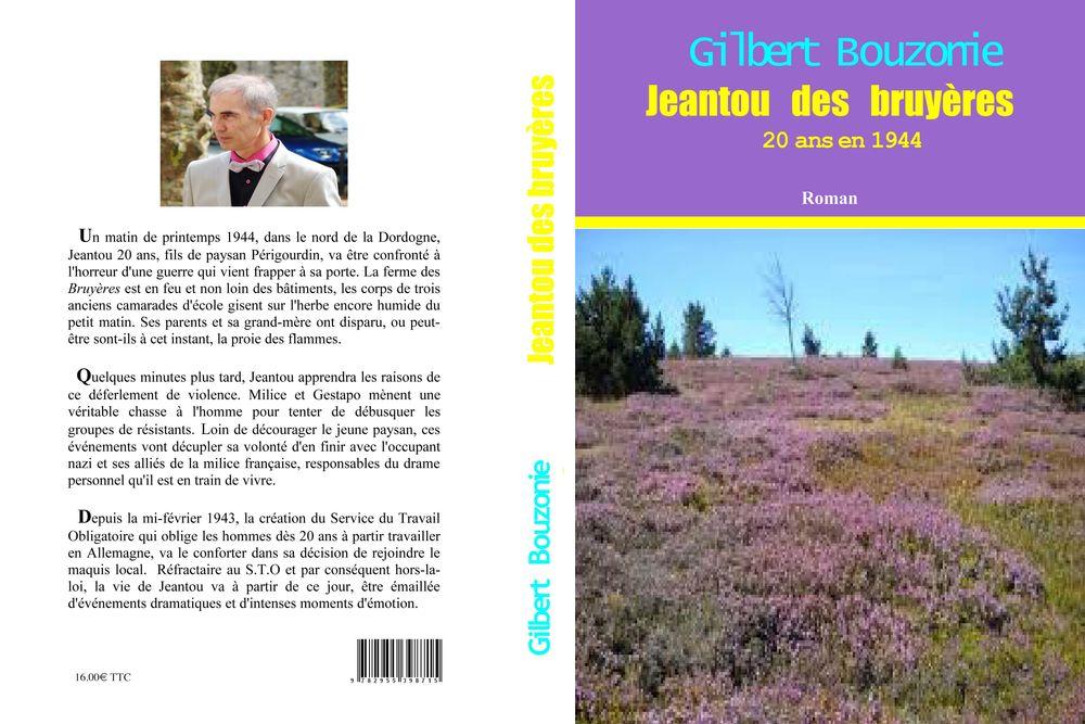 ''Jeantou des bruyères'' - Roman historique 16 Trélissac (24)