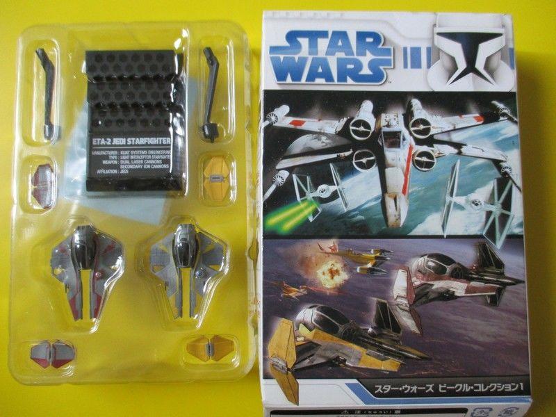 Jedi starfighter x wing 2 vaisseaux figurines  star wars 22 Lognes (77)