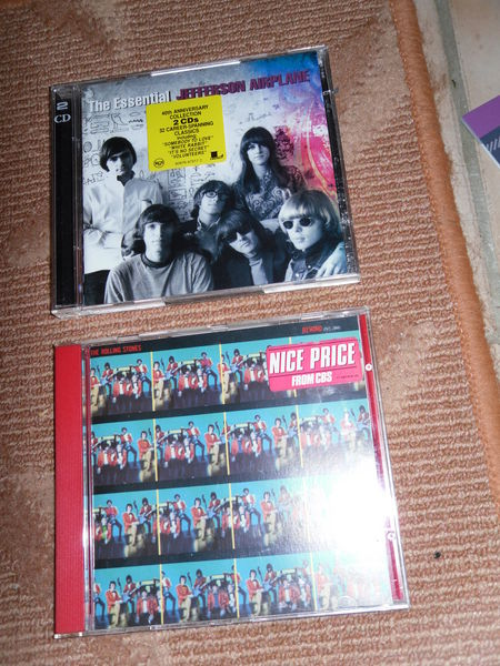 Jefferson Airplane Best 2 cds, Rolling Stones Best TBE 10 Neuville-de-Poitou (86)
